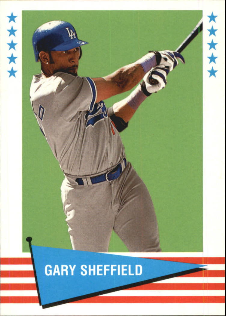 1999 Fleer Tradition Vintage '61 #40 Gary Sheffield