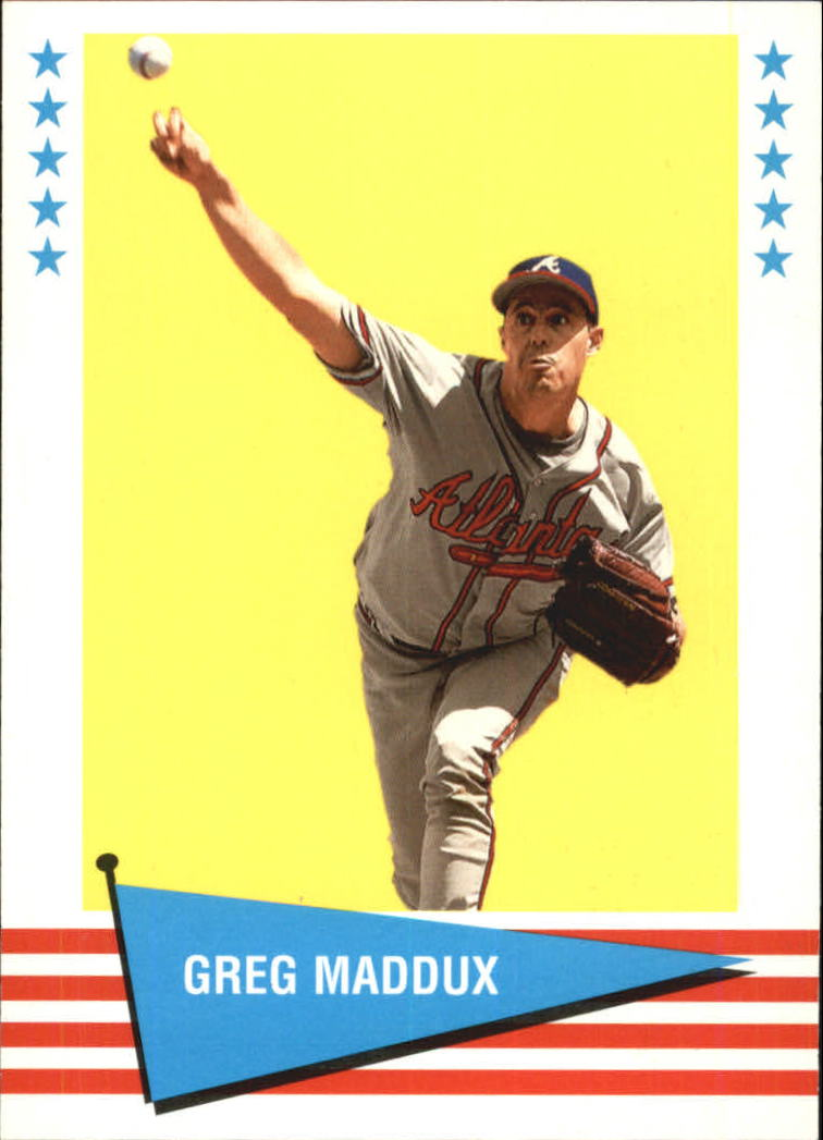 1999 Fleer Tradition Vintage '61 #49 Greg Maddux
