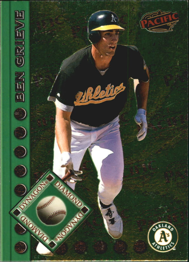 1999 Pacific Dynagon Diamond #5 Ben Grieve