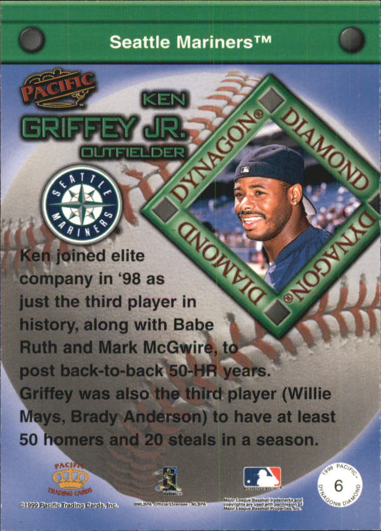 1999 Pacific Dynagon Diamond #6 Ken Griffey Jr.