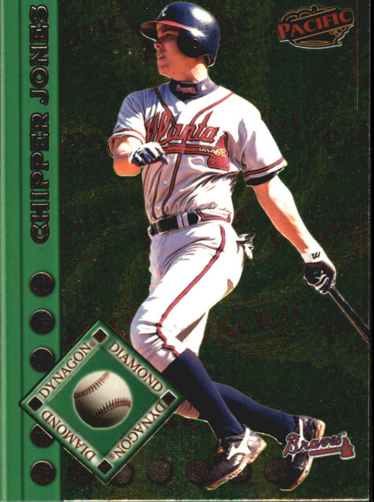 1999 Pacific Dynagon Diamond #10 Chipper Jones