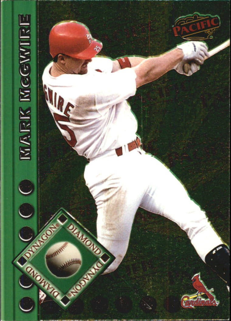 1999 Pacific Dynagon Diamond #18 Mark McGwire