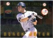 1999 Pacific Hot Cards #6 Derek Jeter