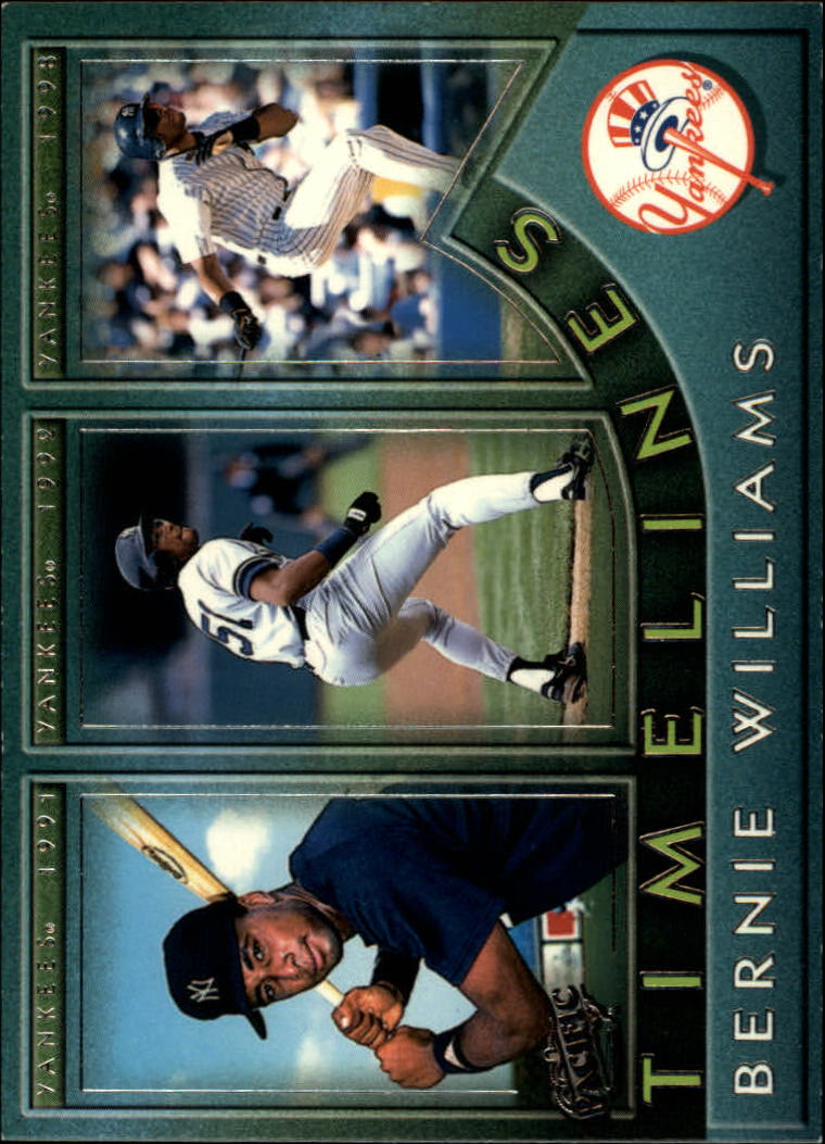 1999 Pacific Timelines #5 Bernie Williams