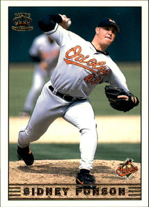 1999 Pacific Crown Collection #40 Sidney Ponson