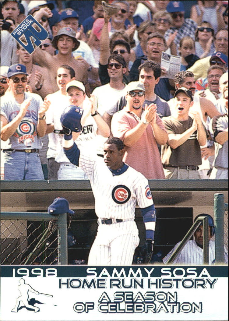 1999 Private Stock Home Run History #18 Sammy Sosa SPEC