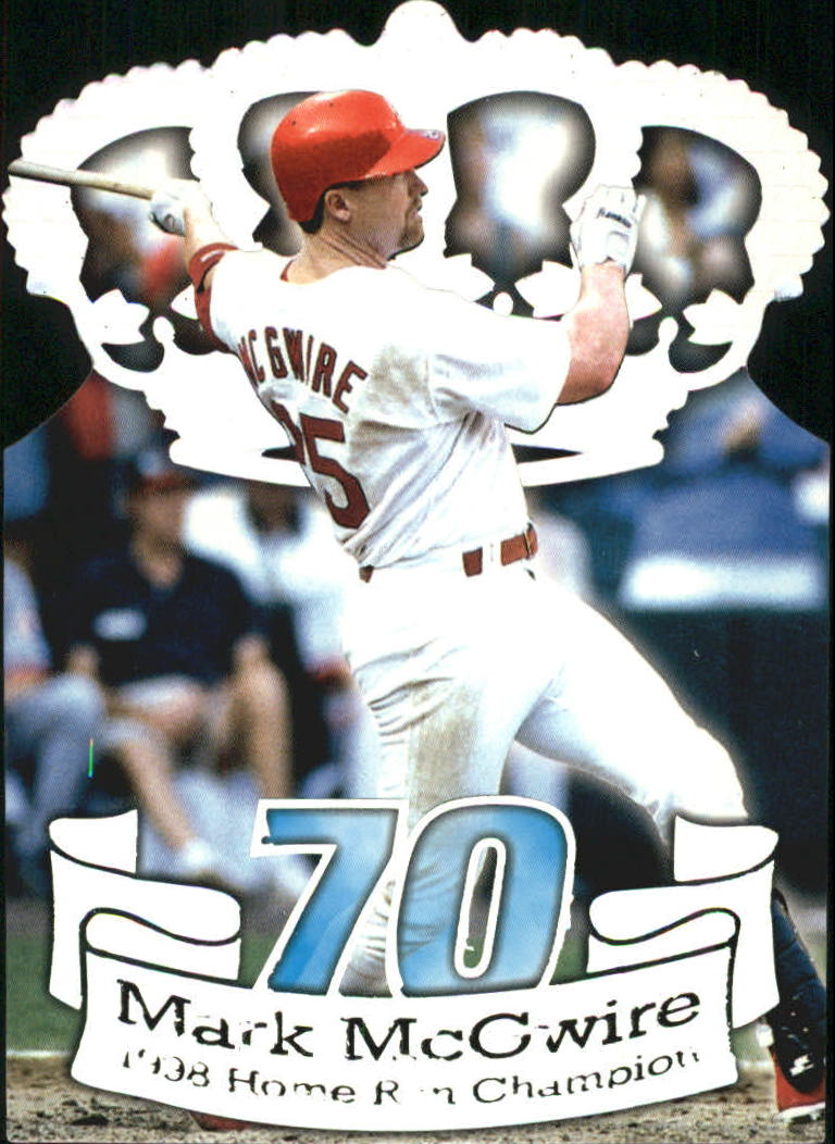 1999 Private Stock Home Run History #21 M.McGwire Crown DC