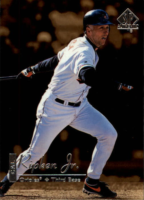 1999 SP Authentic #12 Cal Ripken