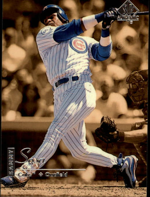 1999 SP Authentic #18 Sammy Sosa