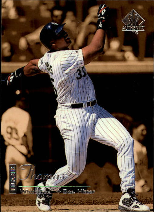 1999 SP Authentic #22 Frank Thomas
