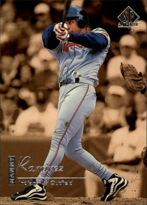 1999 SP Authentic #27 Manny Ramirez