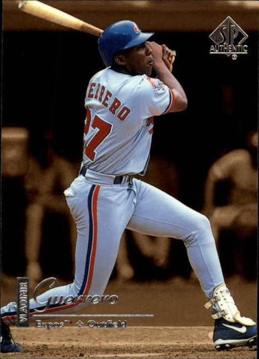 1999 SP Authentic #51 Vladimir Guerrero