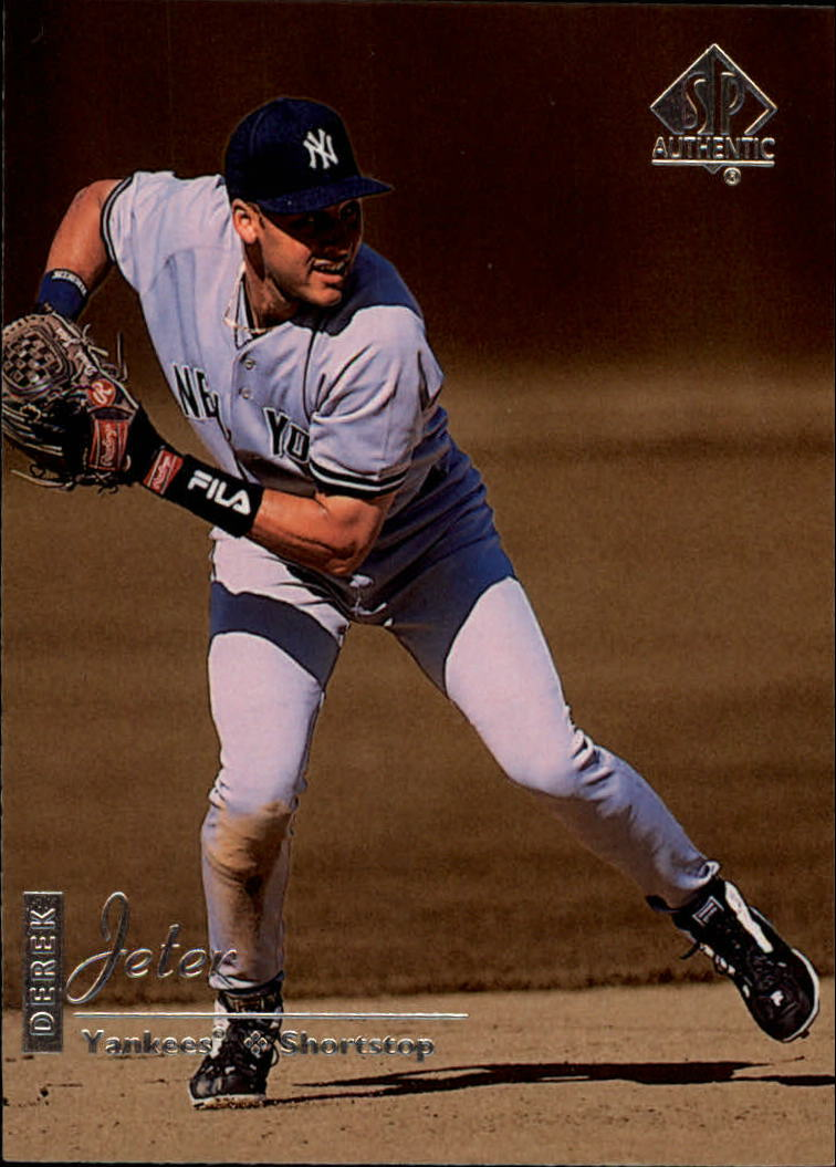 1999 SP Authentic #57 Derek Jeter