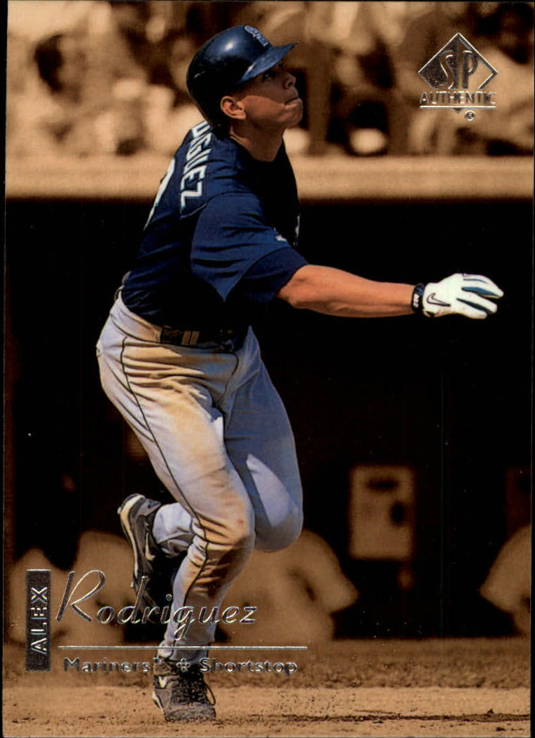 1999 SP Authentic #77 Alex Rodriguez