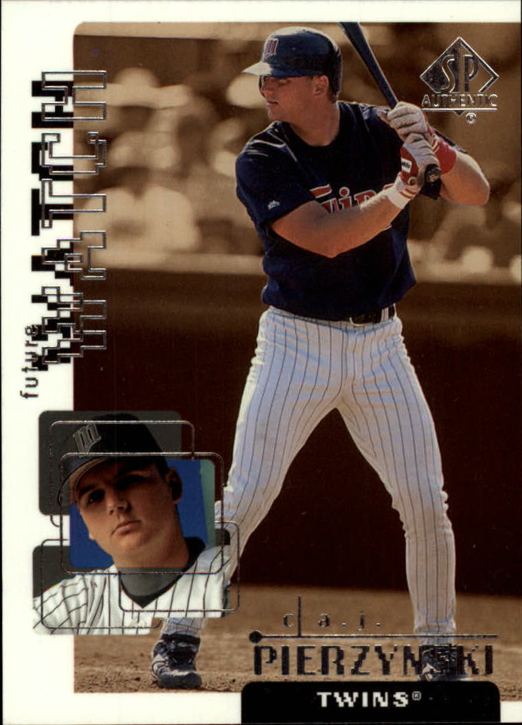 1999 SP Authentic #108 A.J. Pierzynski FW