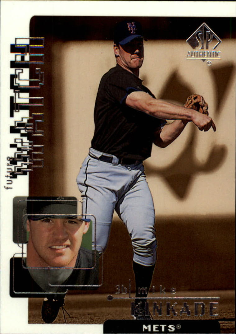 1999 SP Authentic #111 Mike Kinkade FW