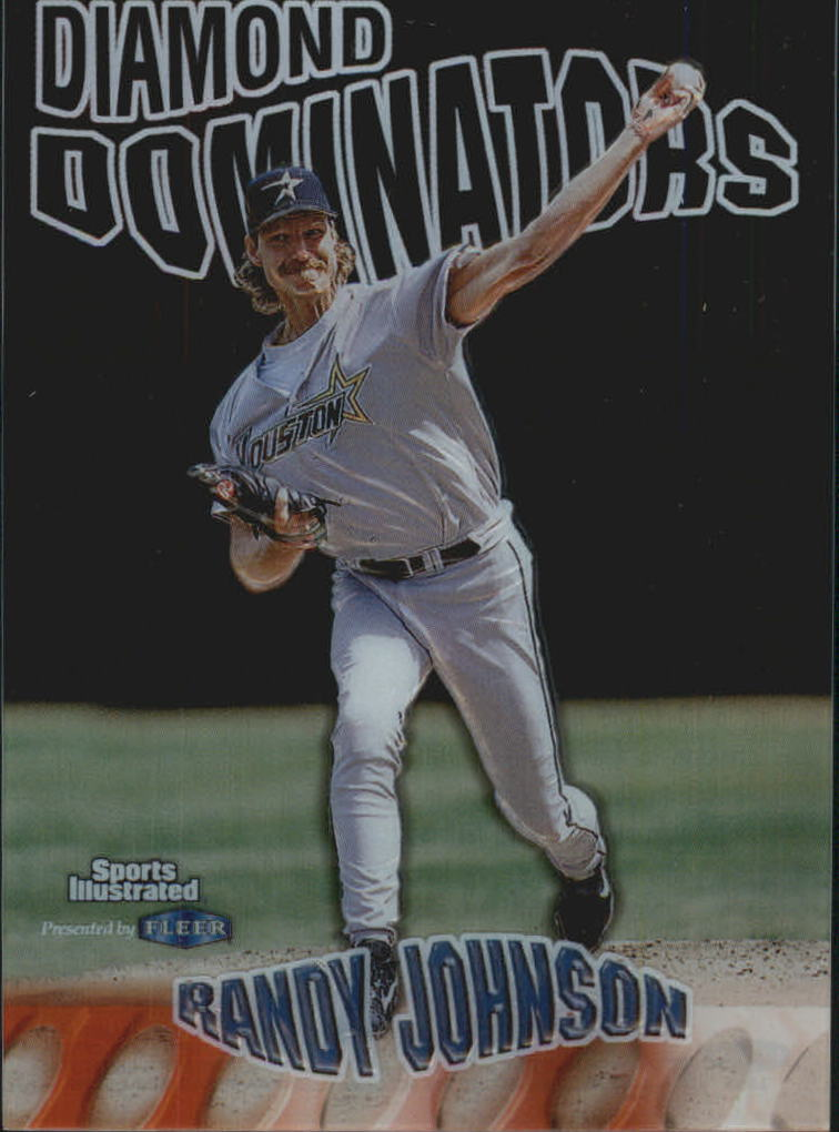 1999 Sports Illustrated Diamond Dominators #3 Randy Johnson