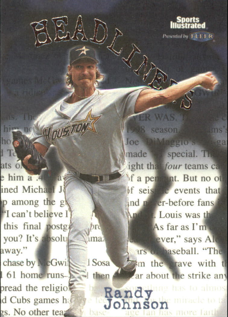 1999 Sports Illustrated Headliners #2 Randy Johnson