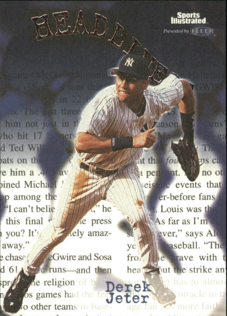 1999 Sports Illustrated Headliners #21 Derek Jeter