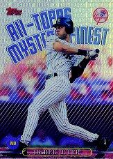 1999 Topps All-Topps Mystery Finest Refractors #M9 Derek Jeter