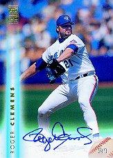 1999 Topps Autographs #A1 Roger Clemens