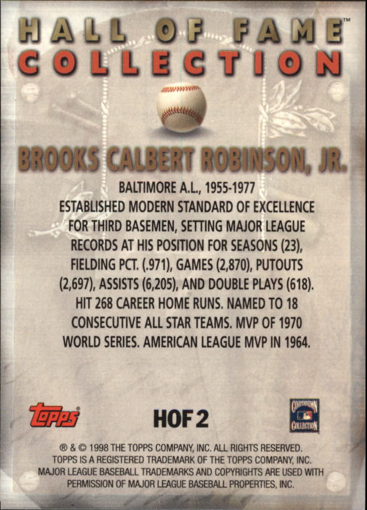 1999-Topps-Hall-of-Fame-Collection-Baseball-Cards-Pick-From-List thumbnail 5