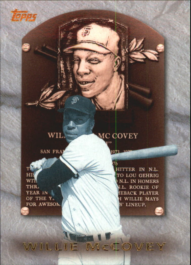 1999 Topps Hall of Fame Collection #HOF4 Willie McCovey