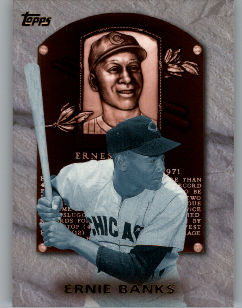 1999 Topps Hall of Fame Collection #HOF7 Ernie Banks