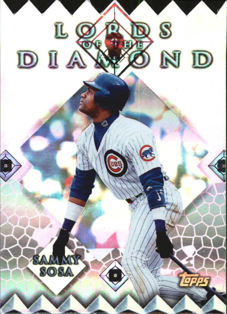1999 Topps Lords of the Diamond #LD3 Sammy Sosa