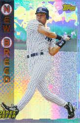 1999 Topps New Breed #NB9 Derek Jeter