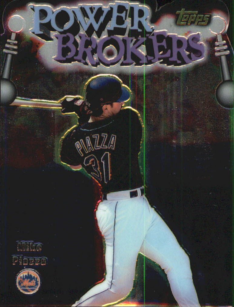 1999 Topps Power Brokers #PB10 Mike Piazza