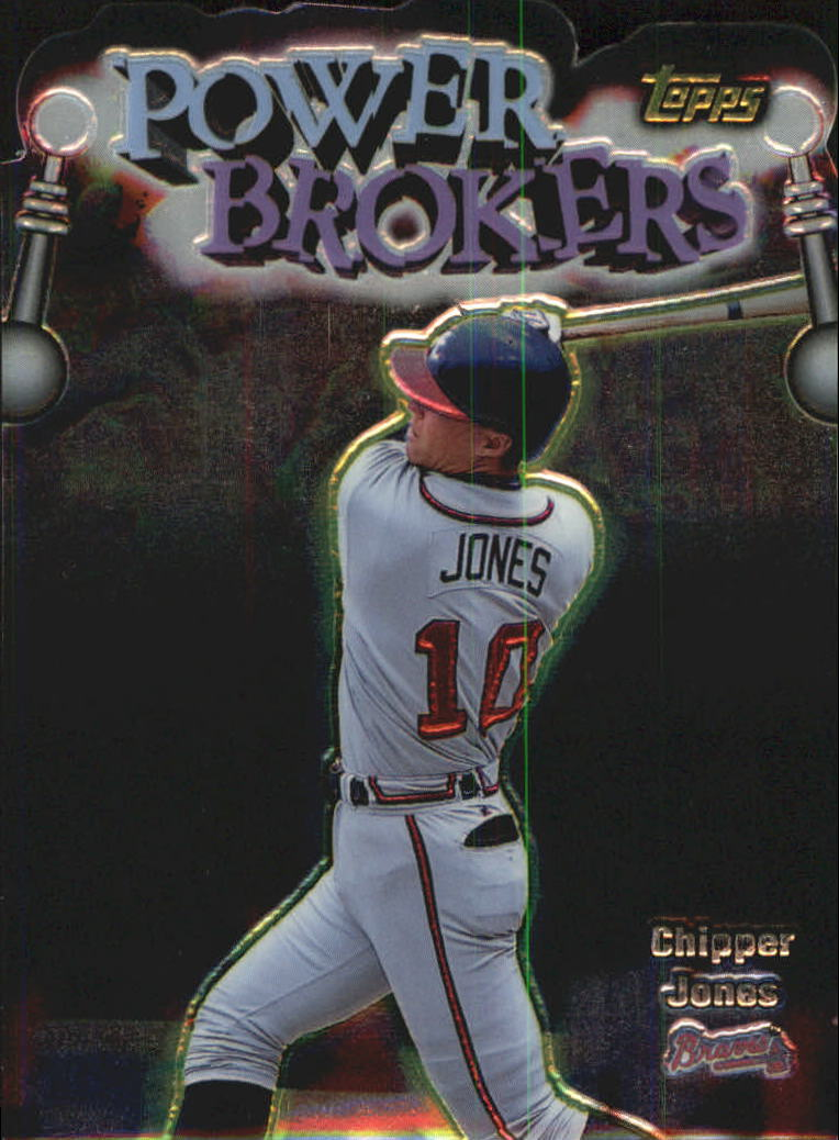 1999 Topps Power Brokers #PB16 Chipper Jones