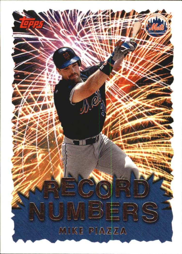 1999 Topps Record Numbers #RN2 Mike Piazza
