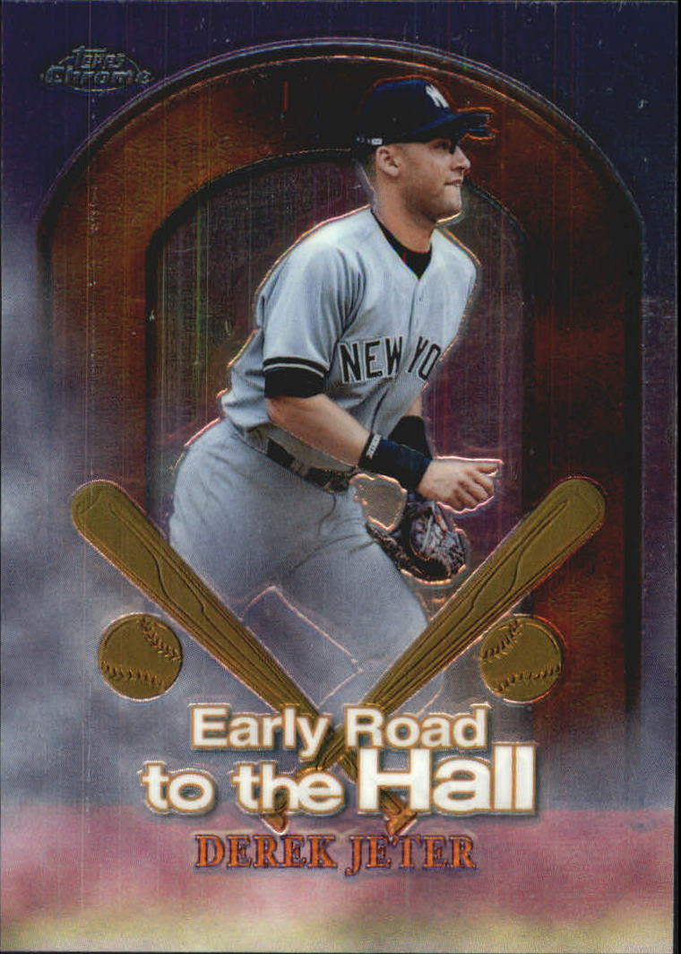 1999 Topps Chrome Early Road to the Hall #ER2 Derek Jeter