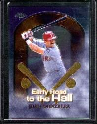 1999 Topps Chrome Early Road to the Hall #ER4 Juan Gonzalez