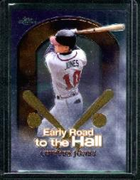 1999 Topps Chrome Early Road to the Hall #ER6 Chipper Jones