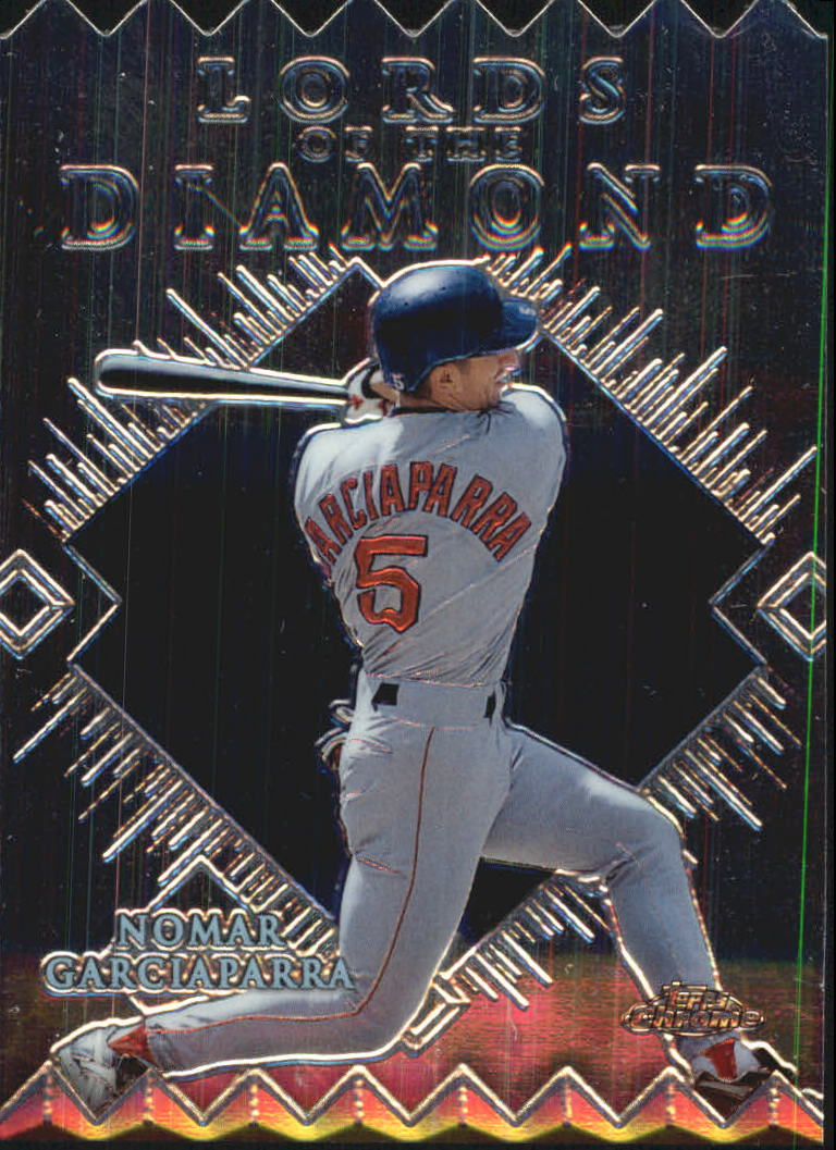 1999 Topps Chrome Lords of the Diamond #LD10 Nomar Garciaparra