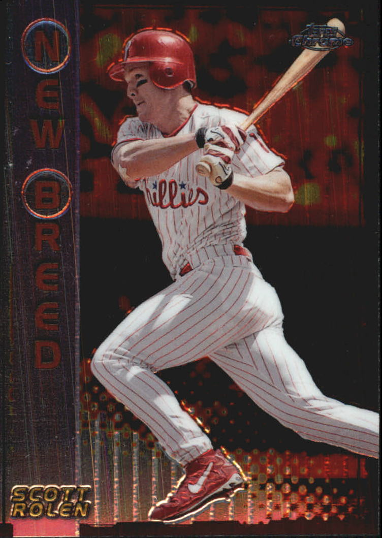 1999 Topps Chrome New Breed #NB6 Scott Rolen