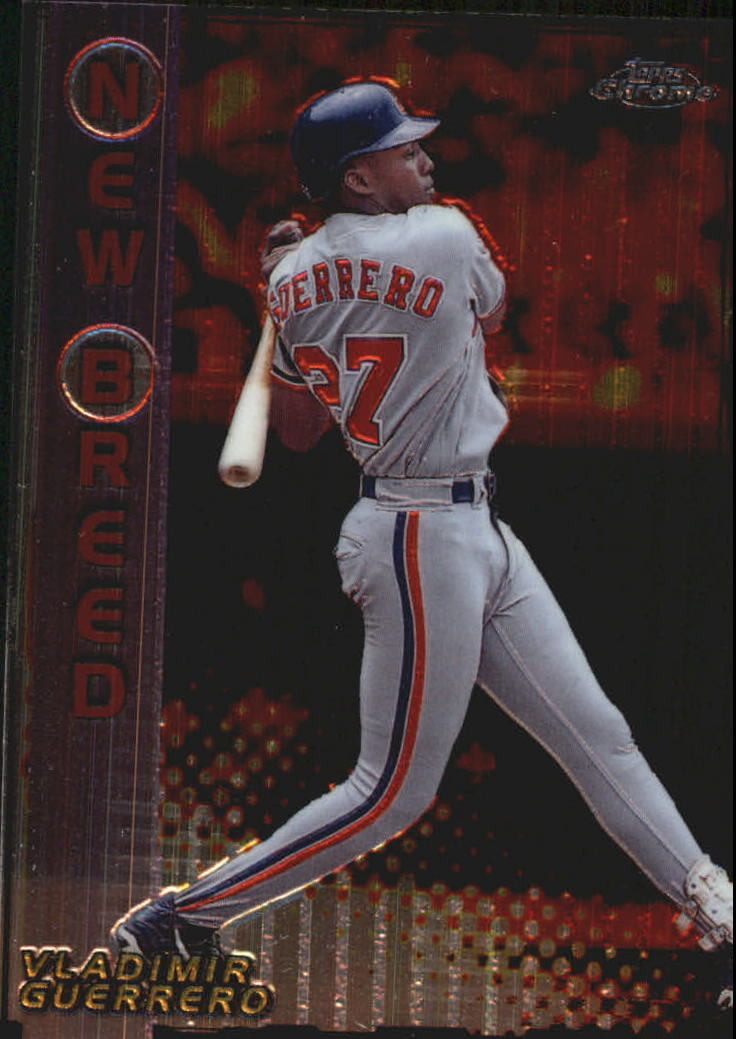 1999 Topps Chrome New Breed #NB8 Vladimir Guerrero