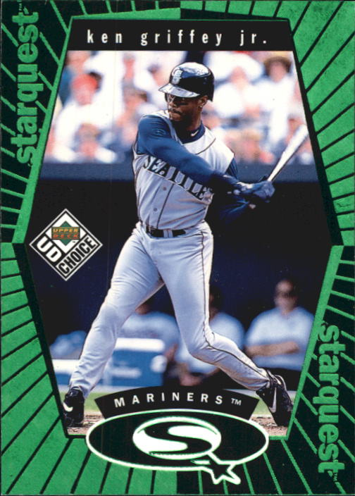 1999 UD Choice StarQuest Green #1 Ken Griffey Jr.