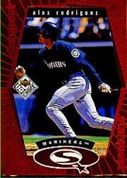 1999 UD Choice StarQuest Red #3 Alex Rodriguez