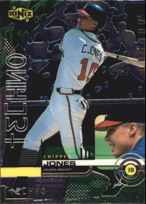 1999 UD Ionix #64 Chipper Jones TECH