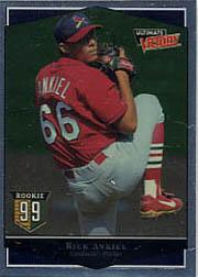 1999 Ultimate Victory #145 Rick Ankiel SP RC