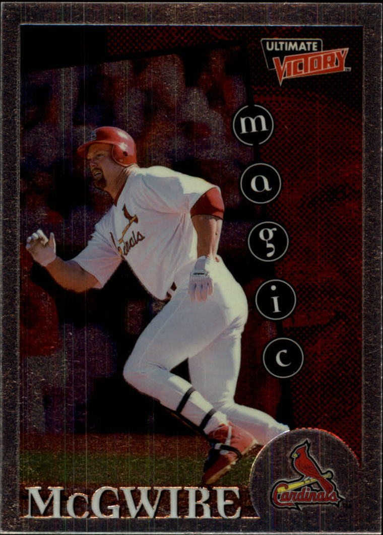 1999 Ultimate Victory #166 Mark McGwire MM