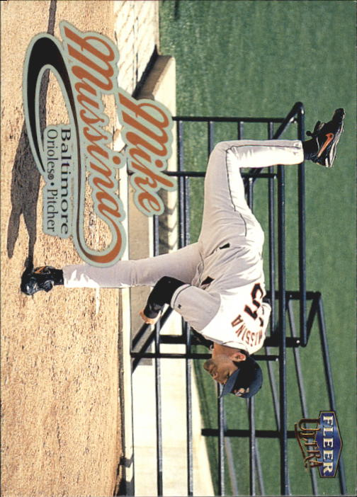 1999 Ultra #96 Mike Mussina