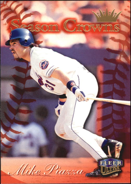 1999 Ultra #222 Mike Piazza SC