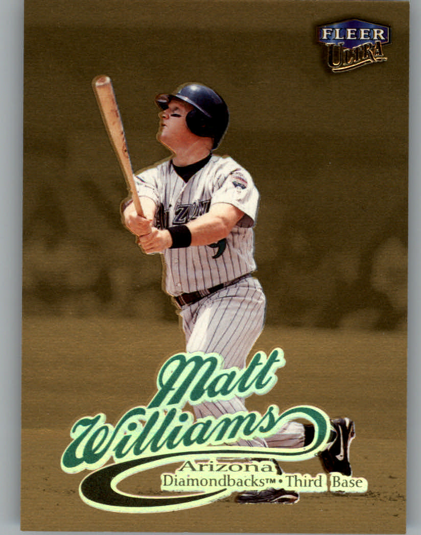 1999 Ultra Gold Medallion #53 Matt Williams
