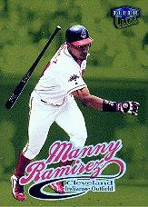 1999 Ultra Gold Medallion #103 Manny Ramirez