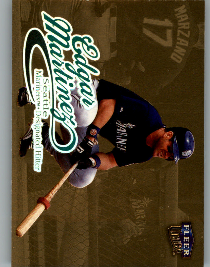 1999 Ultra Gold Medallion #121 Edgar Martinez