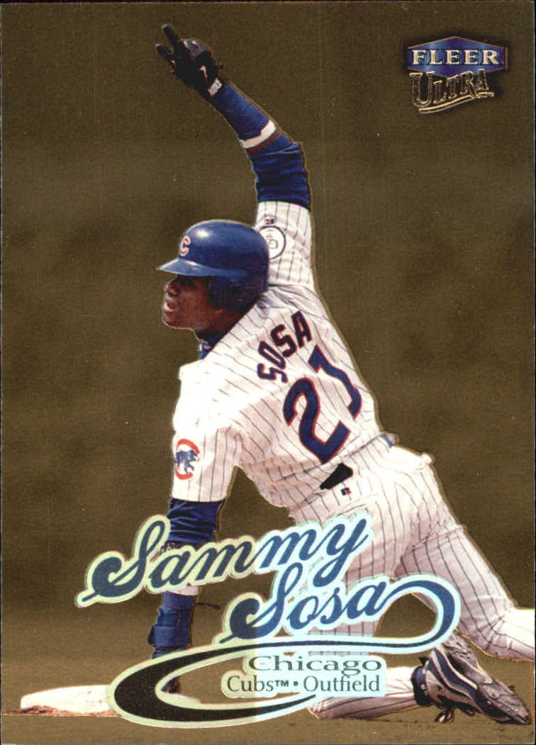 1999 Ultra Gold Medallion #192 Sammy Sosa
